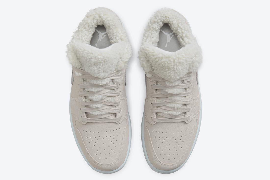 Air Jordan 1 Low 'Sherpa Fleece'