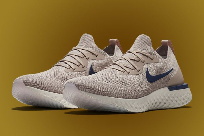 Nike Epic React Beige Blue 2