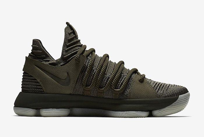 Nike Zoom Kd 10 Olive Green 5