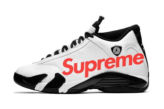 Supreme Air Jordan 14 Collaboration Rumor Bogo Box Logo
