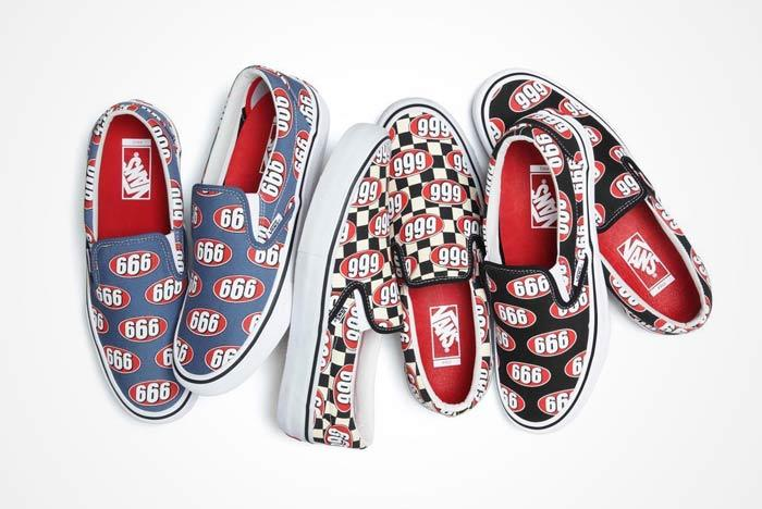 Supreme X Vans Slip On