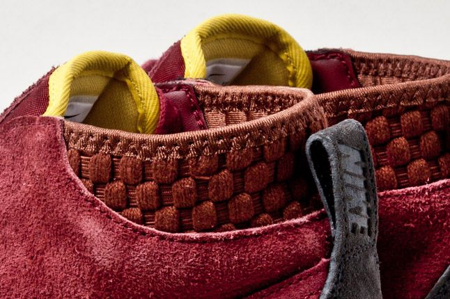 Nike Kenshin Chukka Lthr Deep Red Heels Det 1