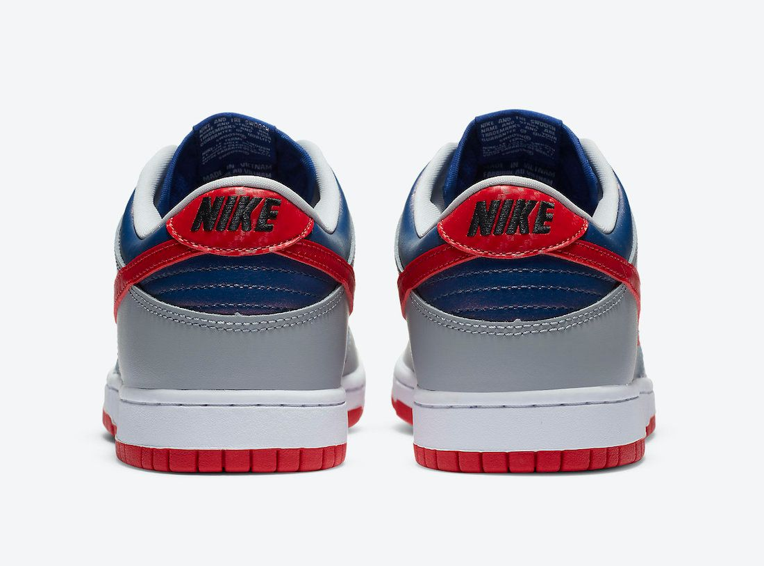 Nike Dunk Low Samba Heel