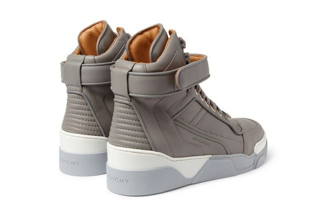 Givenchy Leather0High Top Sneakers 6