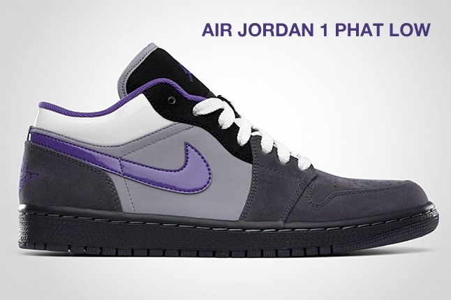 Air Jordan 1 Phat Low Purple 1