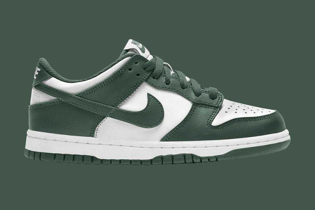 Nike Dunk Low White Green