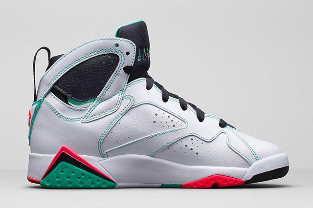 Air Jordan 7 Verde Gg 4