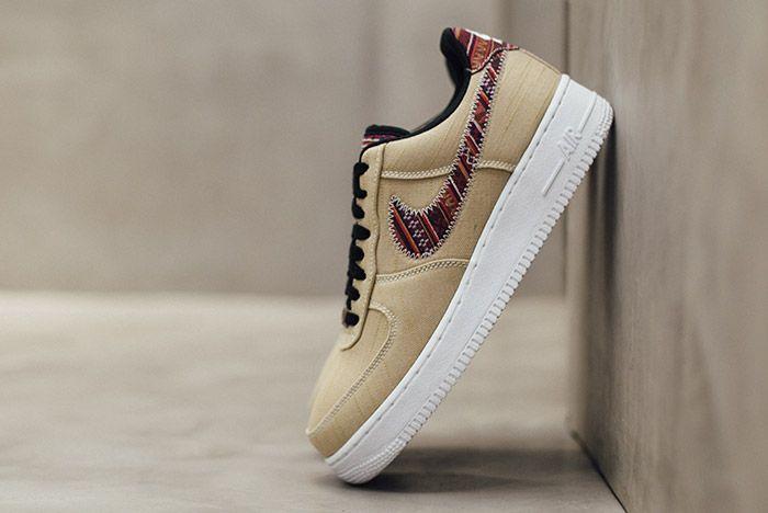 Nike Air Force 1 07 Lv8 Khaki Afro Punk 3