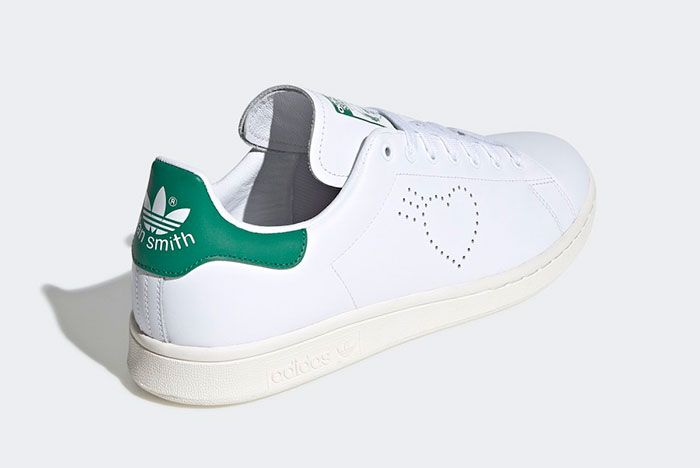 Human Made Adidas Stan Smith Fx4259 Rear Angle