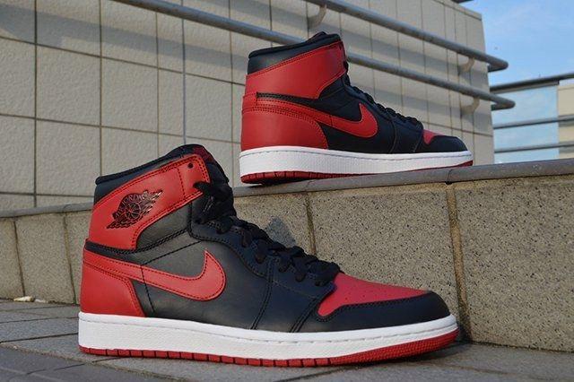Air Jordan 1 High Og Bred 8