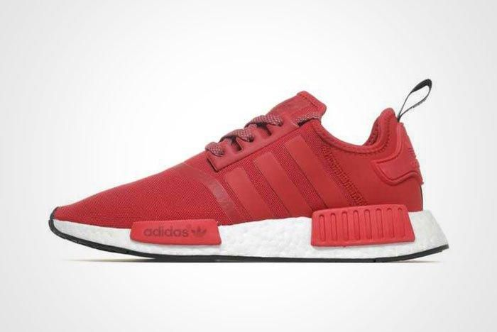 Adidas Nmd R1 Red White Thumb