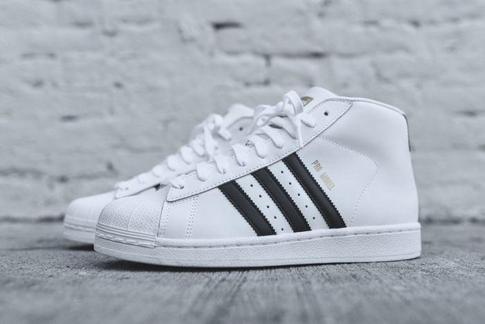 Adidas Originals Pro Model Og White Black 6