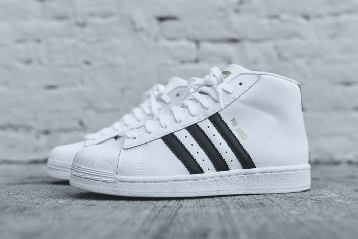 Adidas Originals Pro Model Og White Black 6