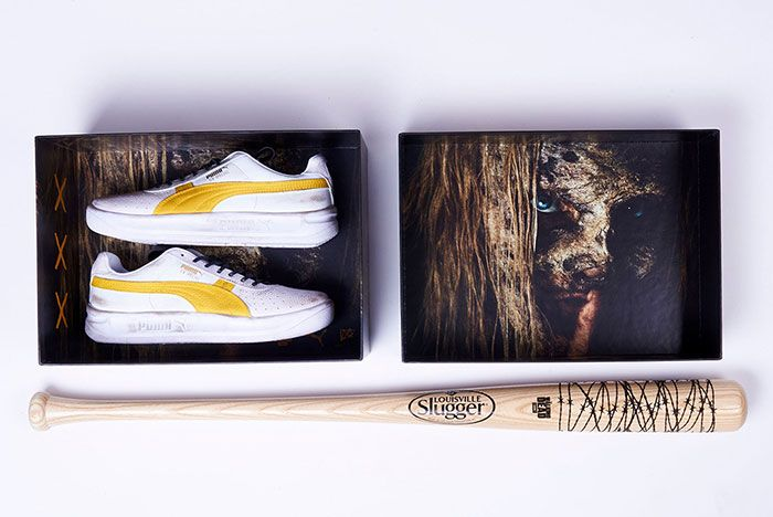 Walking Dead Puma Gv Special 6 Pair Box And Bat 2