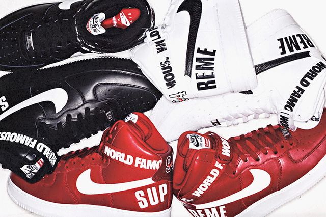 Supreme Nike Air Force 1 Hi Pack 1 960X640