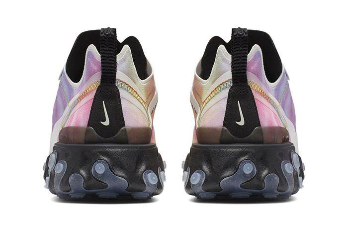 Nike React Element 55 Tie Dye Release Date Heel