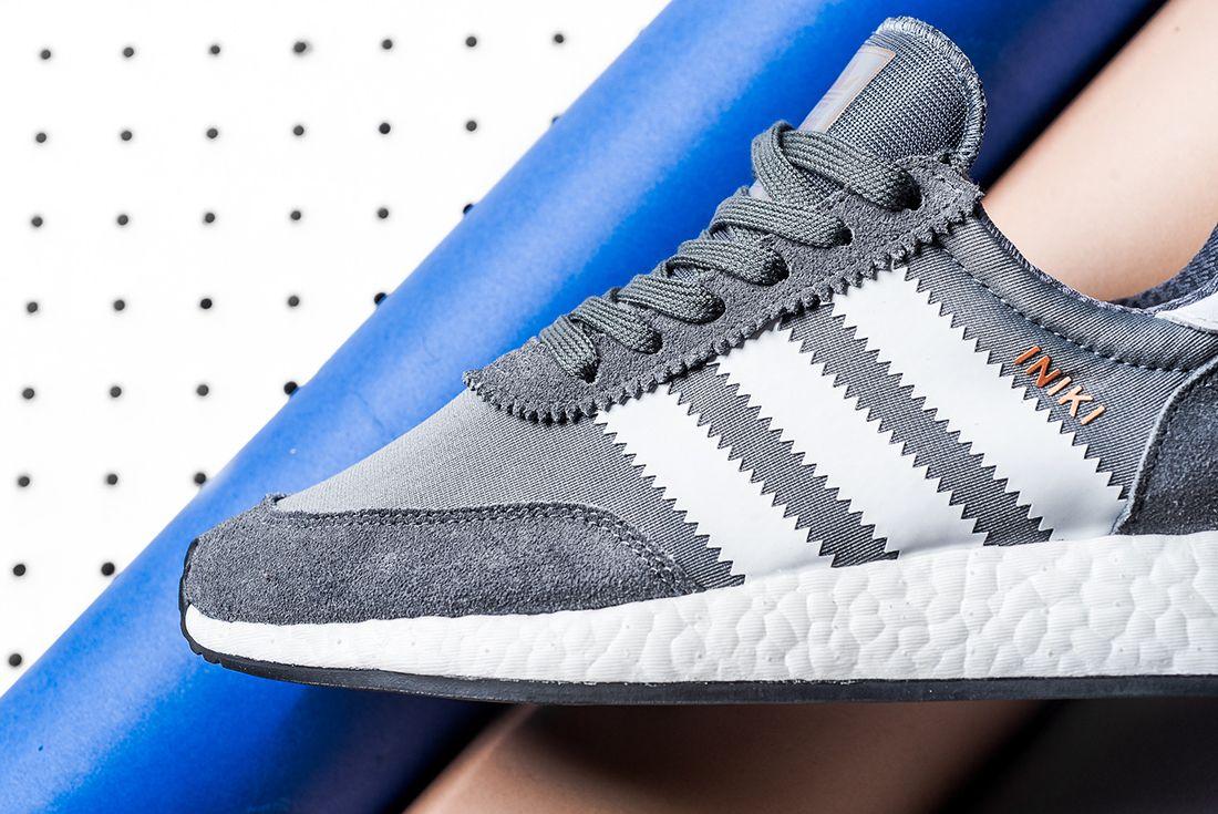 Adidas Iniki Runner Boost Grey White6