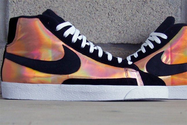 Jbf Custom Nike Sb Blazer Copper 1