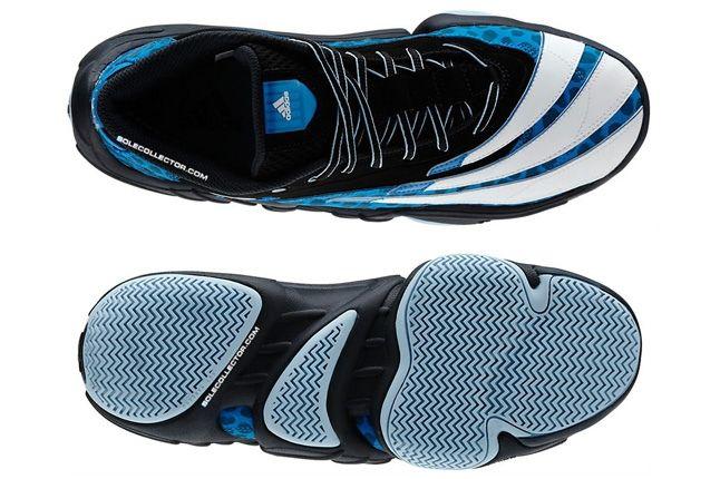 Adidas Realdeal Cheetah Blue Split Sole Aerial 1