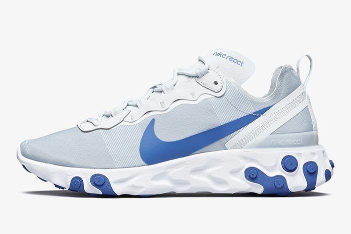 Nike React Element 55 Racer Blue 2