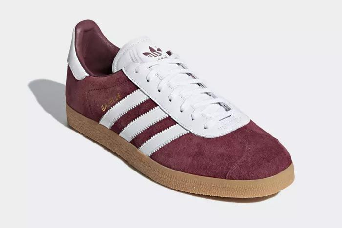 Adidas Gazelle Collegiate Burgandy 4
