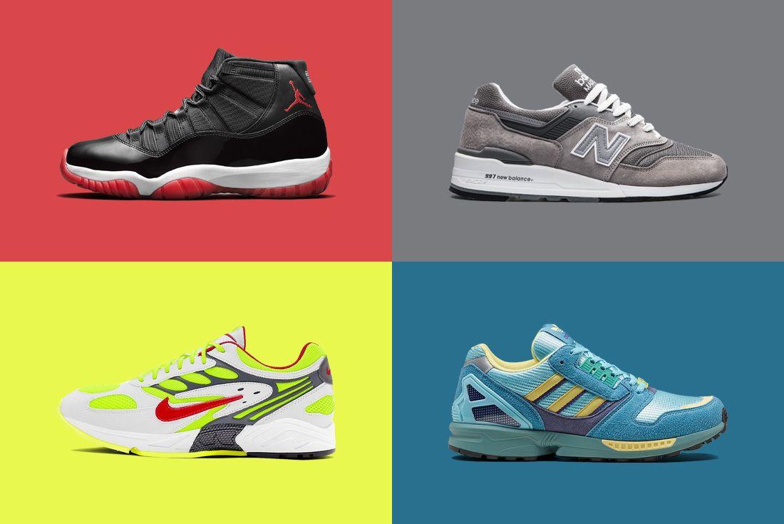 Retro Sneaker Header
