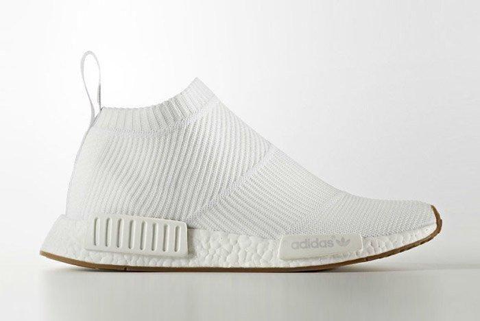 Adidas Nmd City Sock Cs 1 Boost White Gum 1