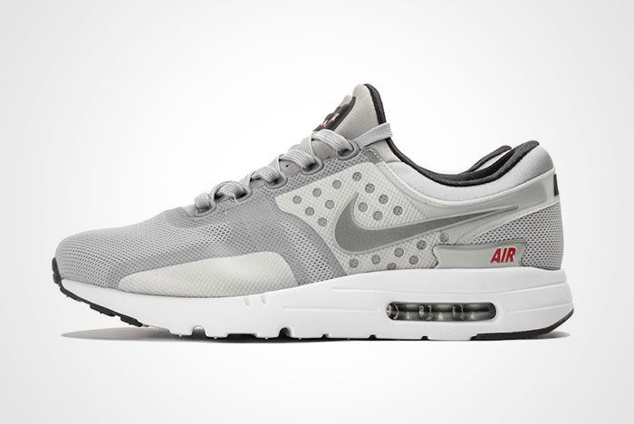 Nike Air Max Zero Matallic Silver Thumb