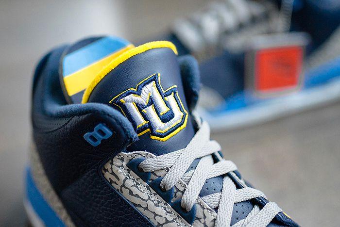 Air Jordan 3 College Pe Marquette 5 Sneaker Freaker