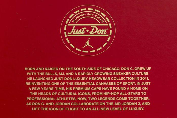 Just Don X Air Jordan 2 Beach4