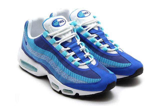 Nike Air Max 95 Jacquard Triple Blue
