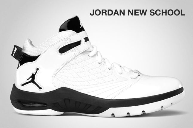 Jordan New School White Black 1