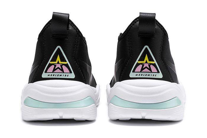 Puma Thunder Tz Metallic Pale Pink Heels