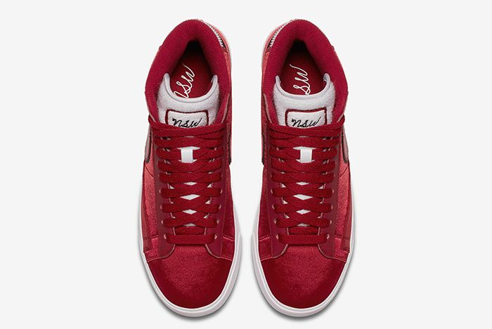 Nike Blazer Satin Red 4