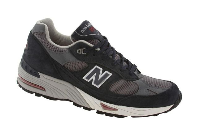 New Balance 991 Pys Exclusive Navy Side 1