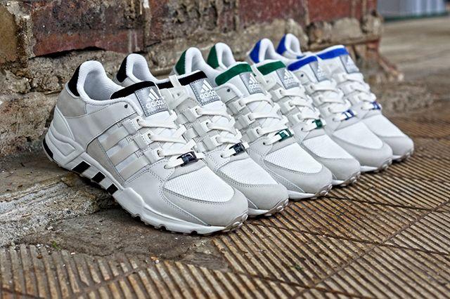 Adidas Originals Eqt Running Support 93 White Pack 3