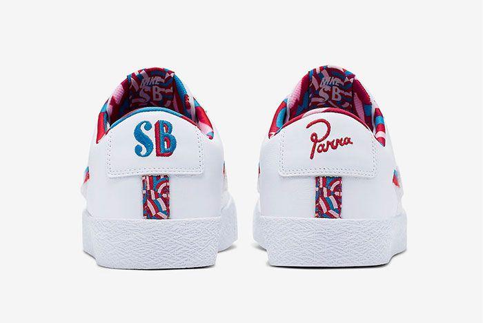 Nike Parra Blazer Sb Low Heel