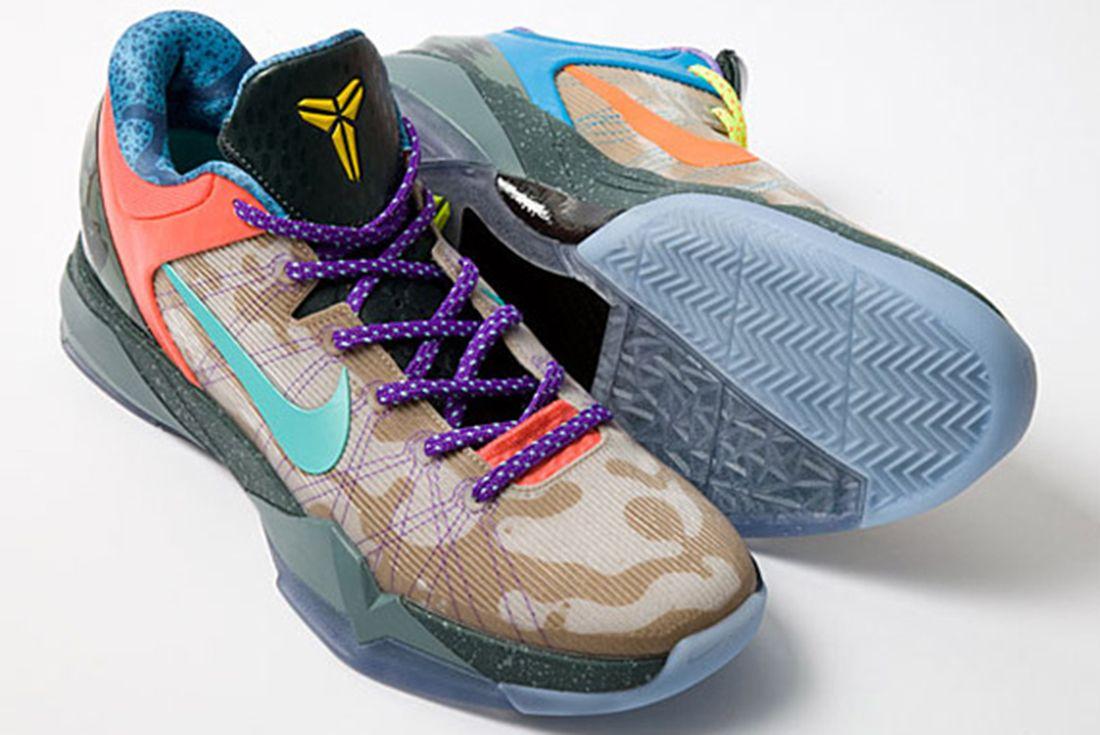 Nike Kobe 7 System What the Kobe 2012 Angled