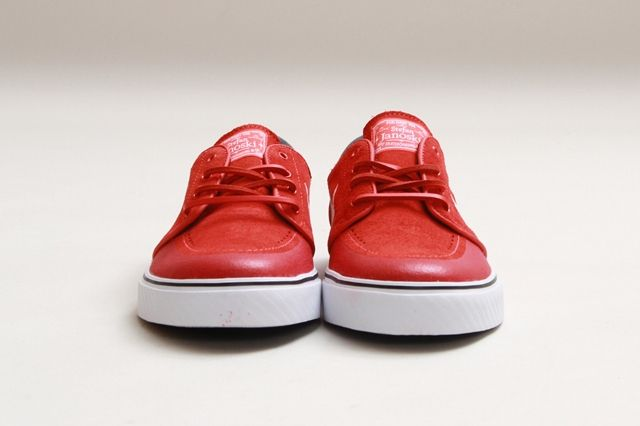 Nike Sb Stefan Janoski Lt Crimson Gym Red 1