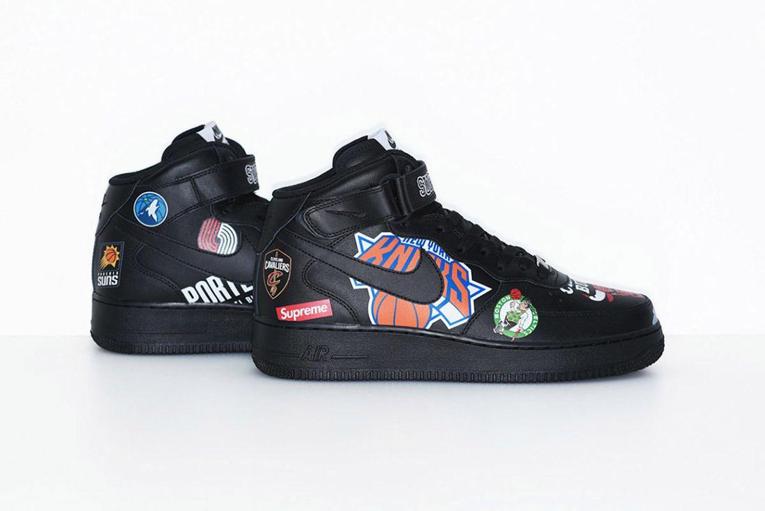 Supreme Nike Nba Air Force 1 High Sneaker Freaker 19