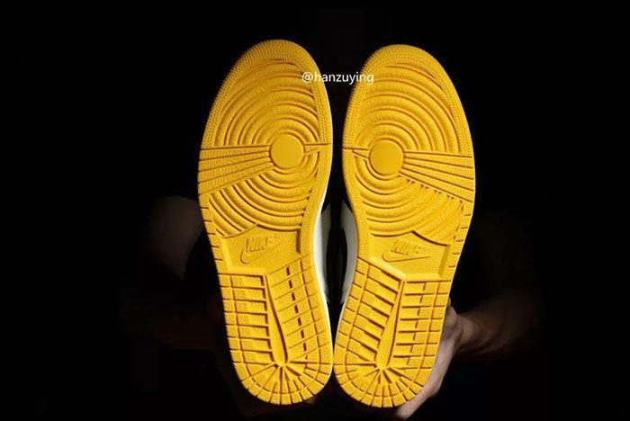 Air Jordan 1 Nrg No Ls Varsity Maize 861428 107 Release Date 21 Sneaker Freaker
