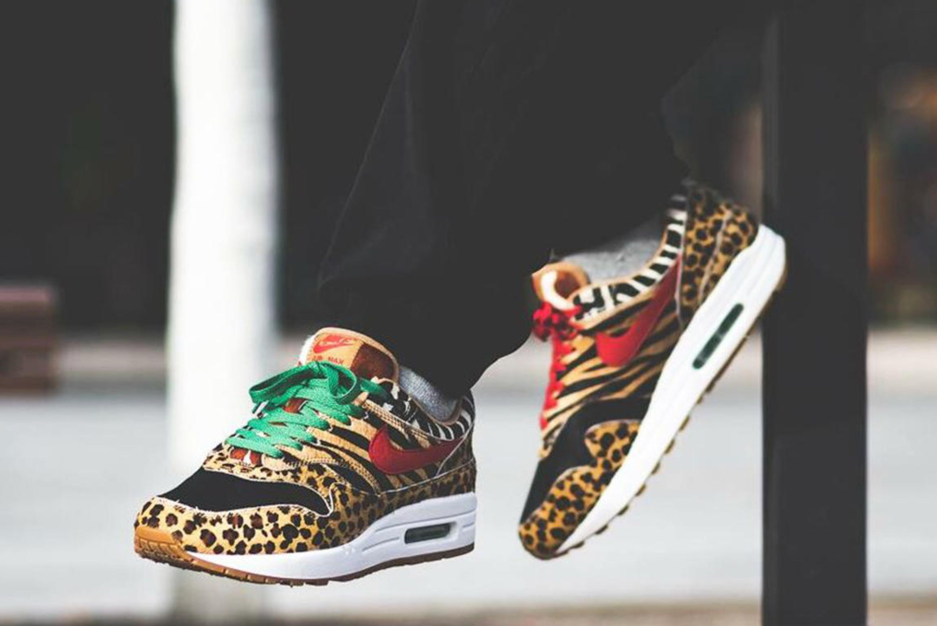 Afew restock atmos x Nike Air Max 1 'Animal 2.0'
