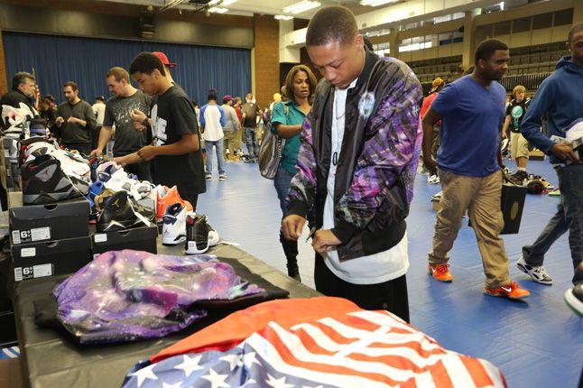 Sneaker Con Charlotte 2012 American Flag 1