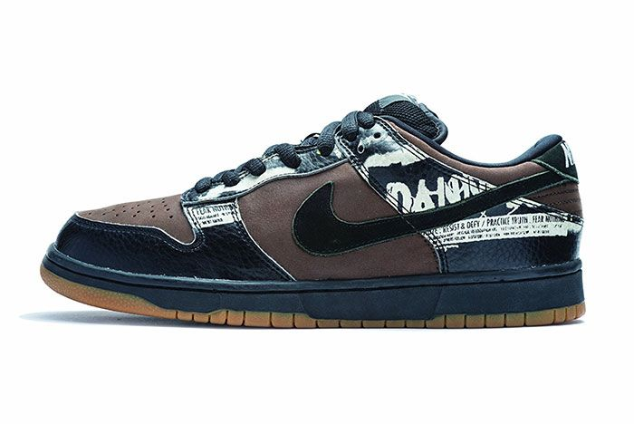 Nike Sb Dunk Low Zoo York Lateral Side