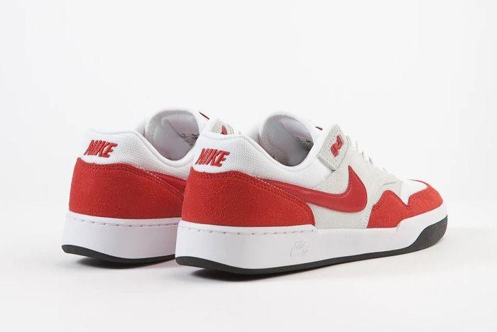 Nike Sb Gts Return Air Max 1 Sport Red Rear Angle