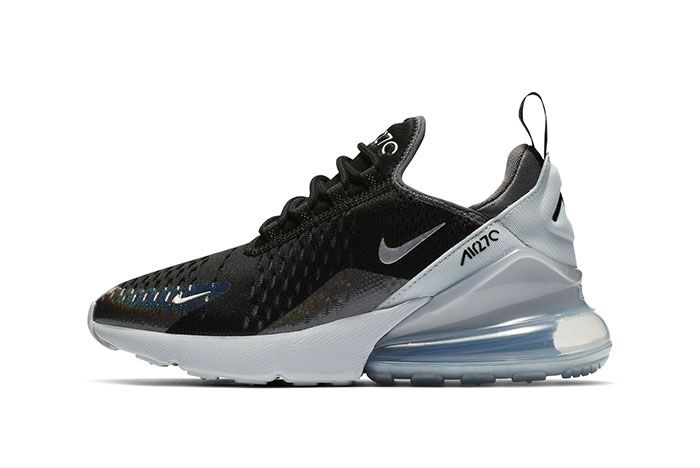 Nike Air Max 270 Black Blue Sneaker Freaker3