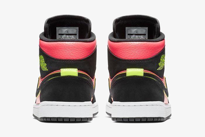 Air Jordan 1 Mid Hot Punch 5