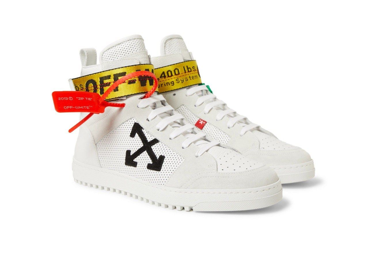 Off White New Spring Summer 2018 Footwear 01