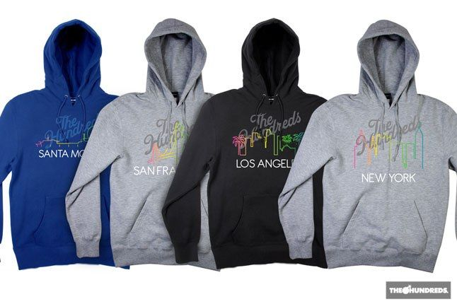 The Hundreds City Hoodies 1