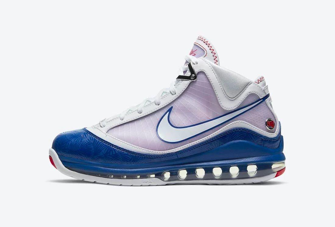 Nike LeBron 7 'Baseball Blue'